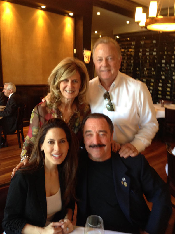 Keri Kasem, Beverly Hills Chief of Police, David Snowden and wife Ellen