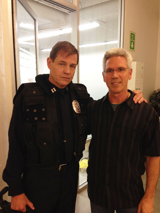 Michael Pare and AllenCardoza