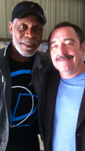 Logan Clarke and Danny Glover