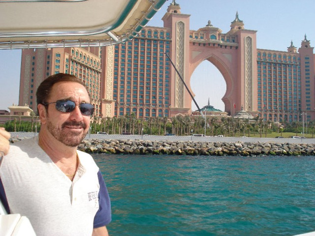 Logan Clarke in Dubai at Atlantis Hotel